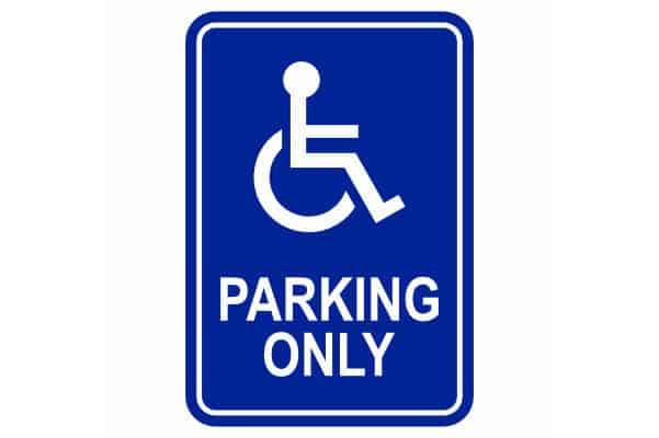 ADA Parking Only