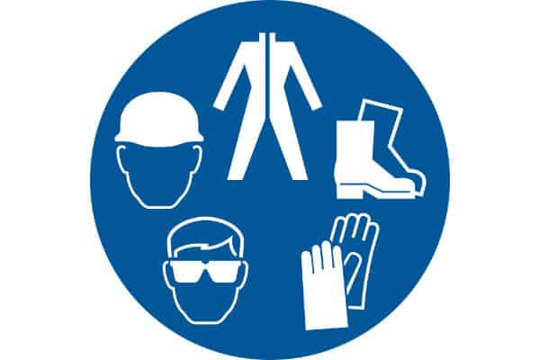 ANSI_C PPE Sign - Compliance Sign