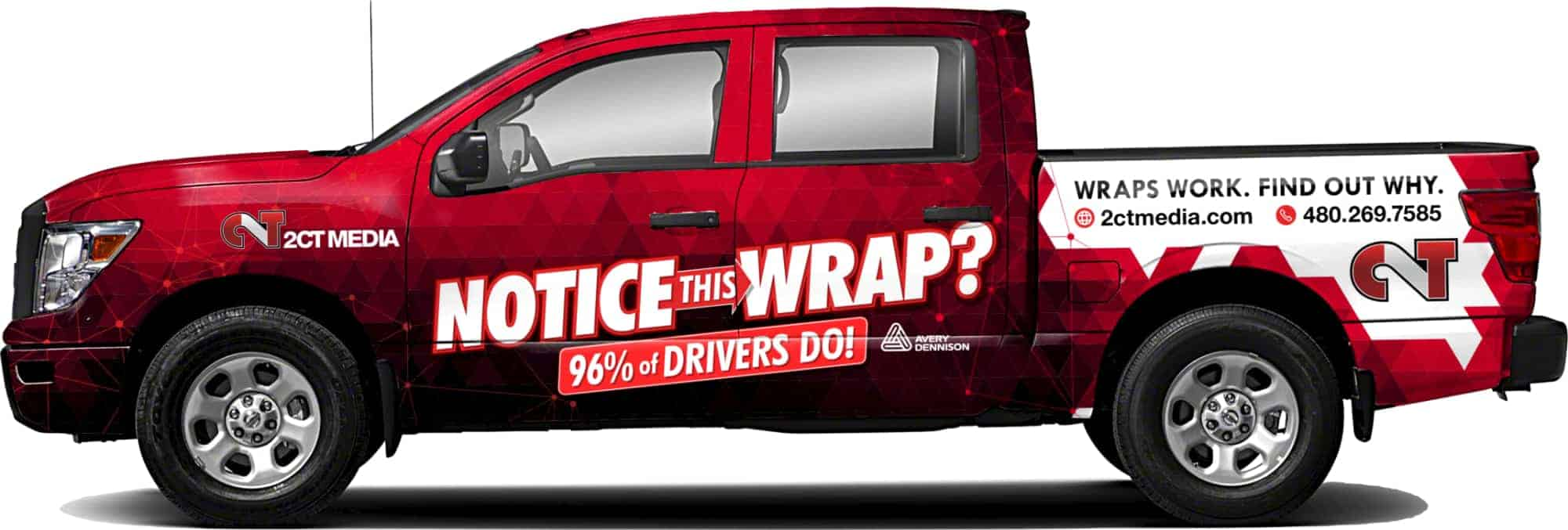 After Wrap Nissan Titan
