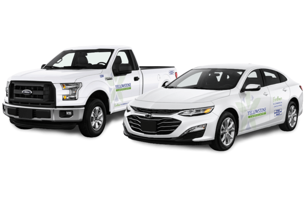 Yellowstone Landscape Fleet Vehicle Wraps