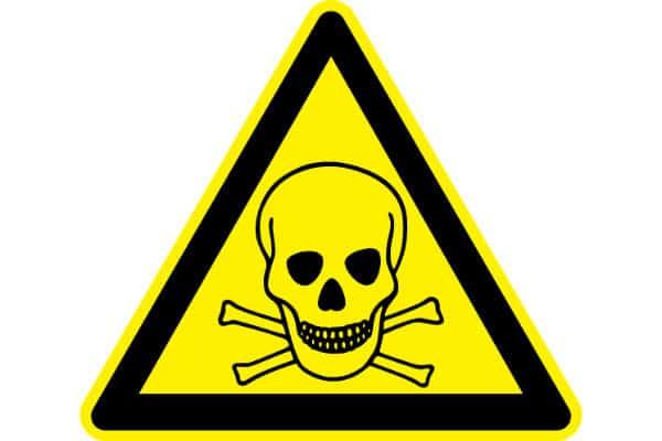OSHA - Chemical Hazard - Compliance Sign