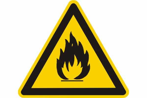 OSHA Flammable Sign
