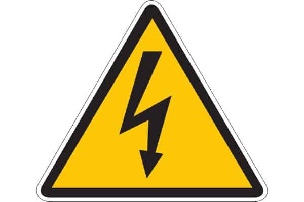 OSHA - Warning High Voltage - Compliance Sign