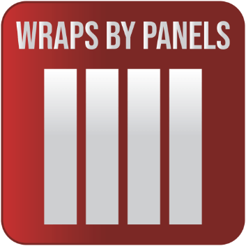 Wraps by Panels button