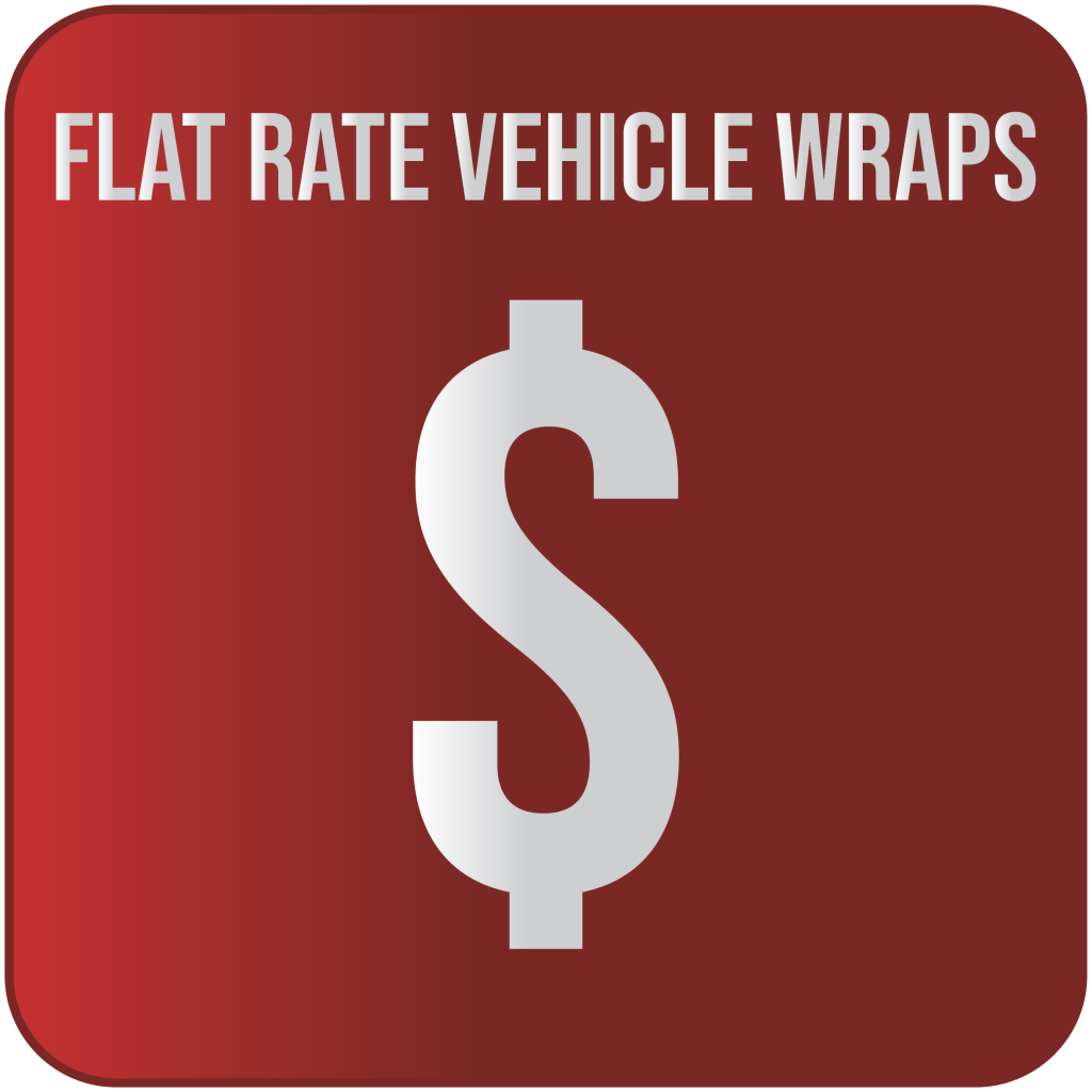 Flat Rate Vehicle Wraps button