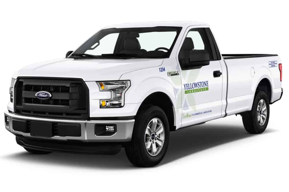 2016 Ford F150 Regular Cab Yellowstone Wrap