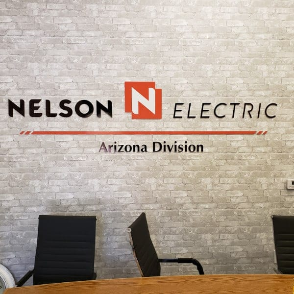 Interior Wall Signage for Nelson Electric