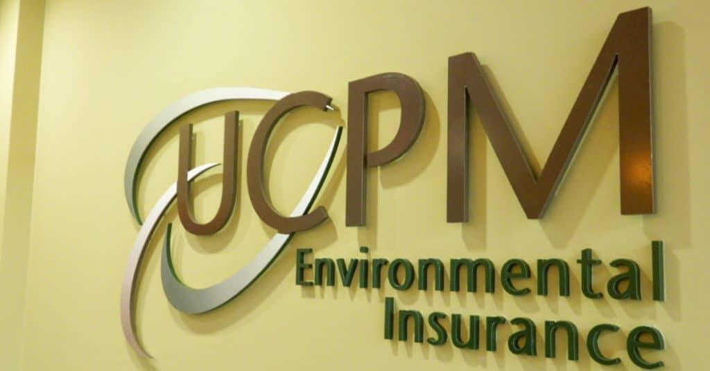 Interior Signs made by 2CT Media for UCPM Environmental Insurance