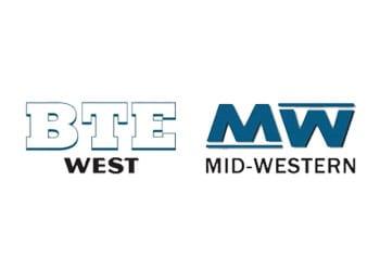 BTE West - MW Mid-Western - Logo
