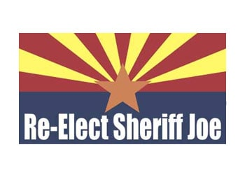 Re-Elect Sheriff Joe - Logo