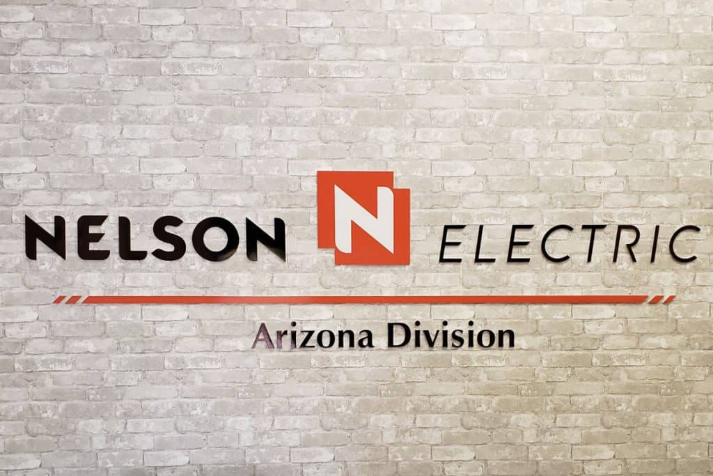 Nelson Electric - Acrylic Signs