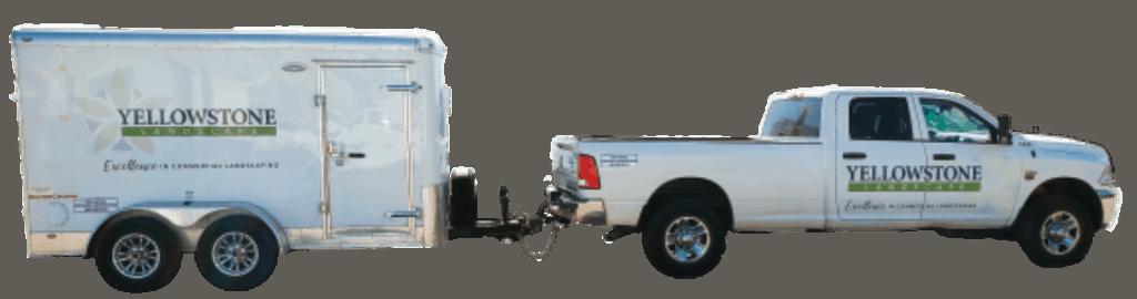 Yellowstone Landscaping Truck